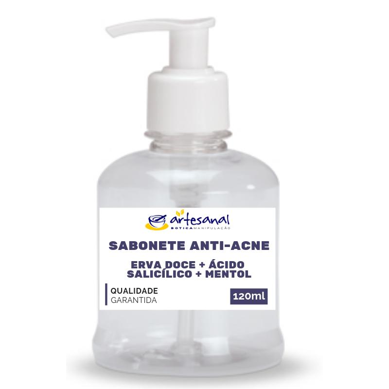 Sabonete Anti-Acne com Ácido Salicílico - 100ml