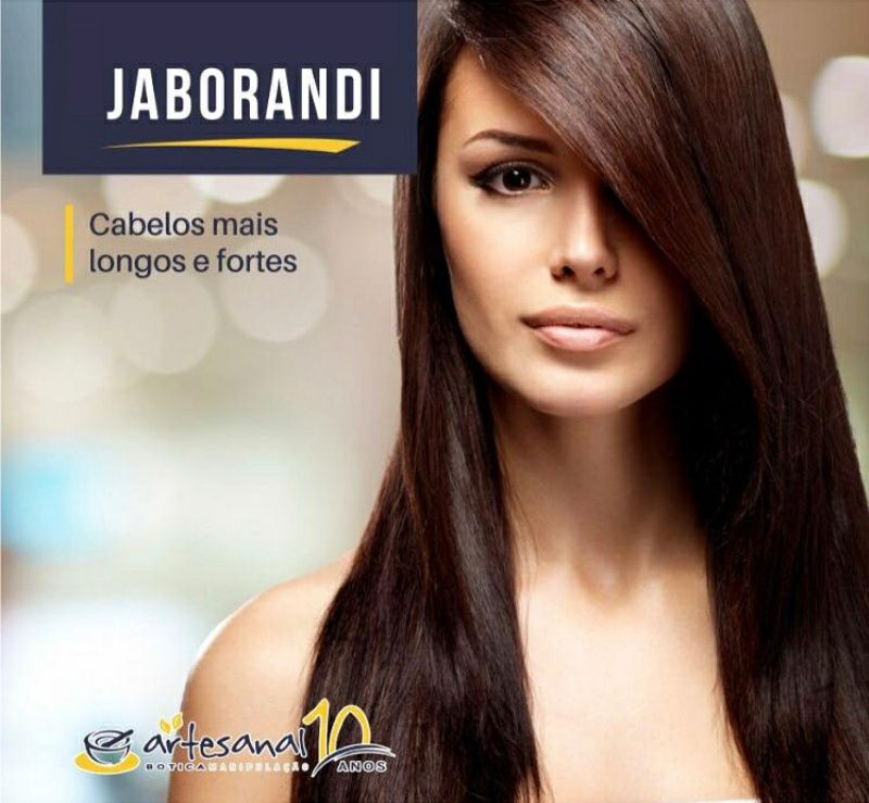 Shampoo de Jaborandi 100ml - Artesanal Botica