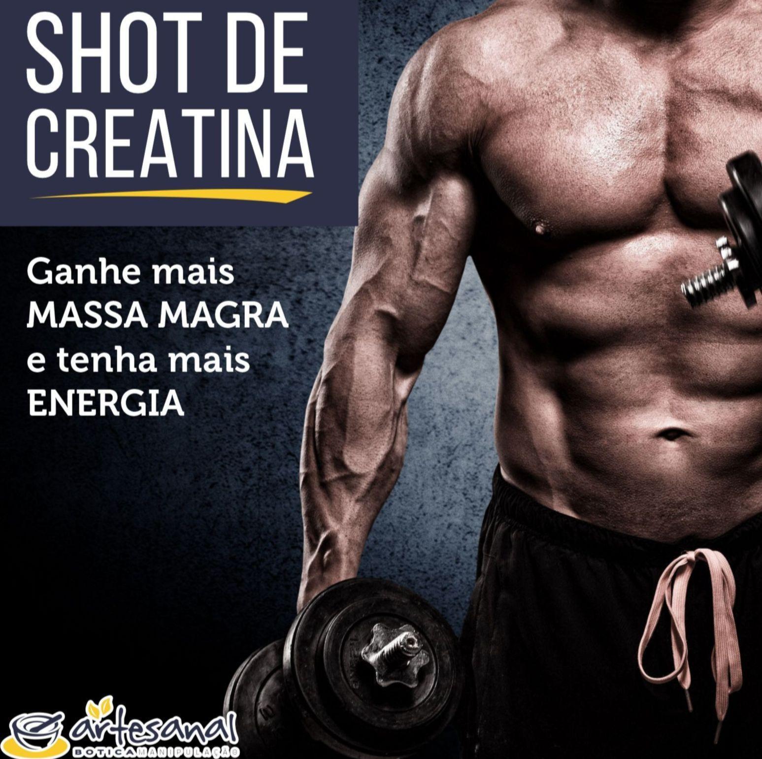 SHOT DE CREATINA 30 flaconetes - 1g