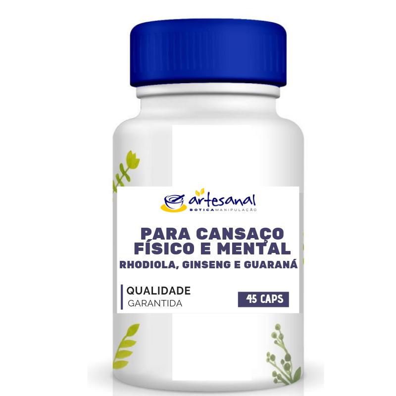 Tratamento Natural contra a Depressão - 60 Cápsulas - Artesanal Botica