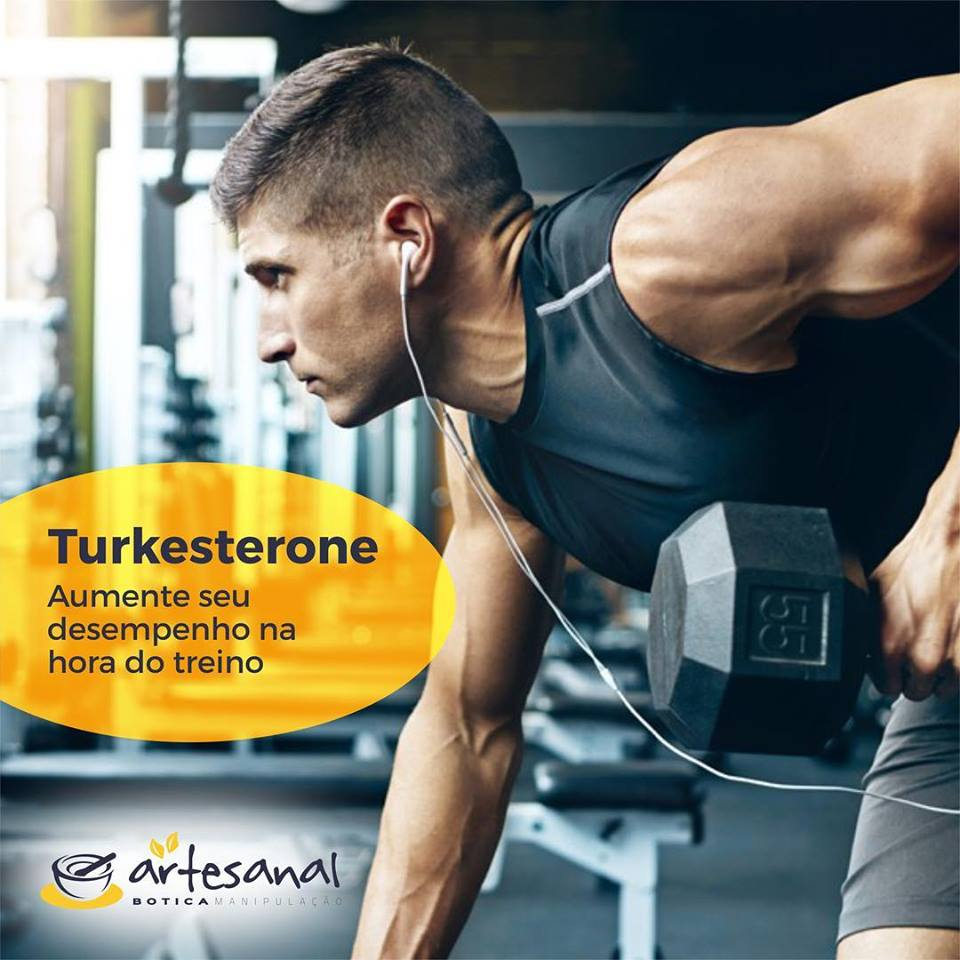 Turkesterone 200mg - 60 Cápsulas