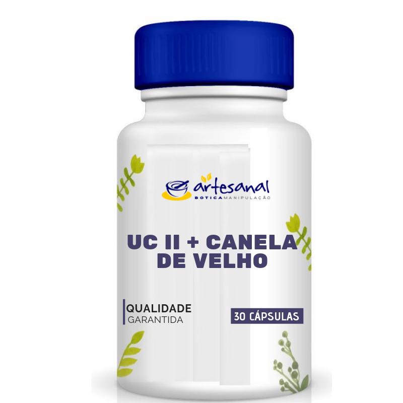 UC II + Canela de Velho - 30 Cápsulas