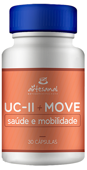 UCII 40mg + MOVE 100mg - 30 Cápsulas