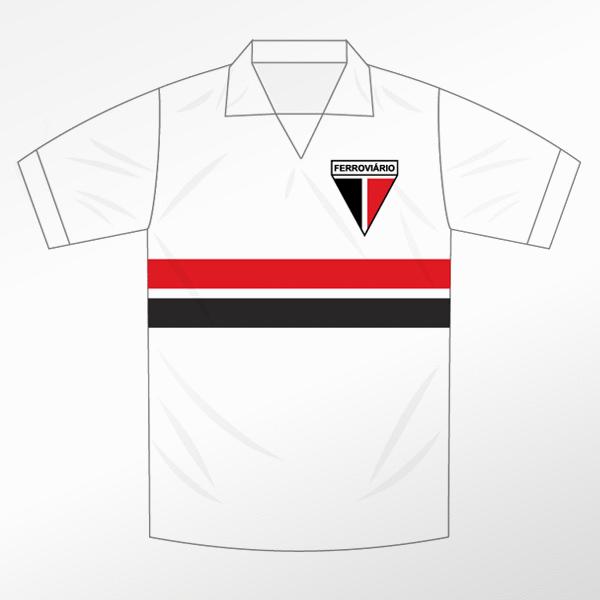 Camisa Retrô Ferroviário Campeão 1988  - Ferroviário Atlético Clube