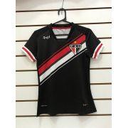 Camisa De Goleiro Feminina uniforme 03 (preta) REF.4821002