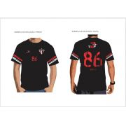 T-Shirt Fio 30 penteado , Camisa Comemorativa 86 anos