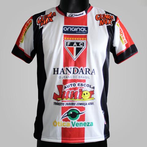 Camisa Fackel 02 2015  - Ferroviário Atlético Clube