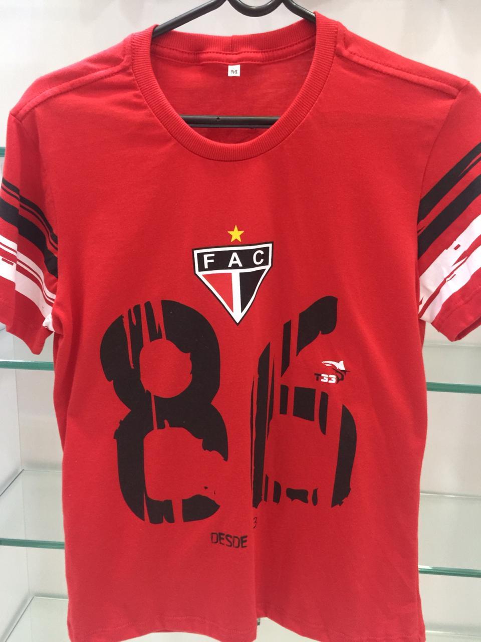 Baby look Fio 30 penteado , Camisa Comemorativa 86 anos  - Ferrão Store