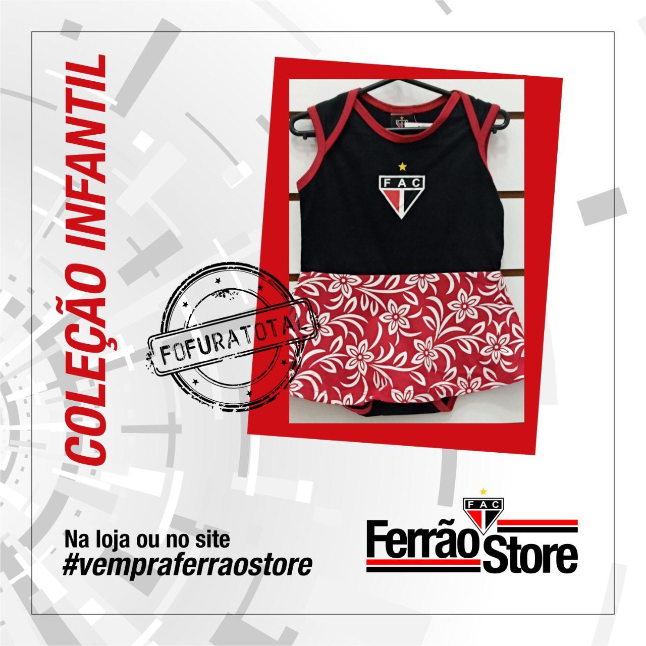 Body Saia Infantil  - Ferrão Store
