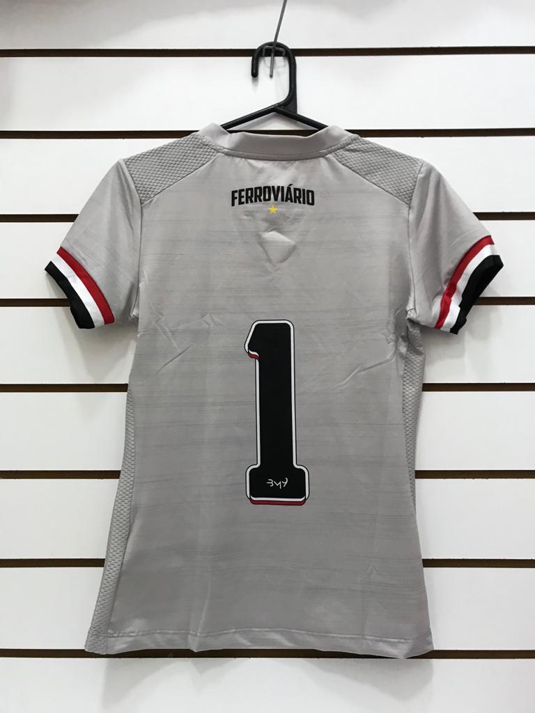 Camisa De Goleiro Feminina uniforme 01(cinza) REF.4821004  - Ferrão Store