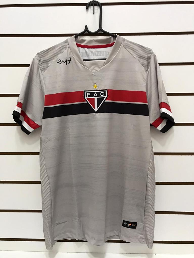 Camisa De Goleiro Masculina uniforme 01(cinza) REF.4811022  - Ferrão Store