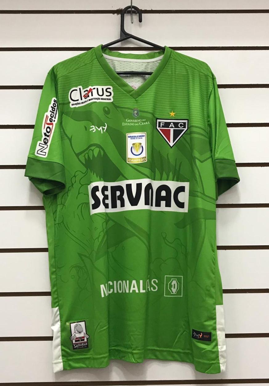 Camisa De Goleiro Masculina uniforme 02 REF.1008103 (2019)  - Ferrão Store
