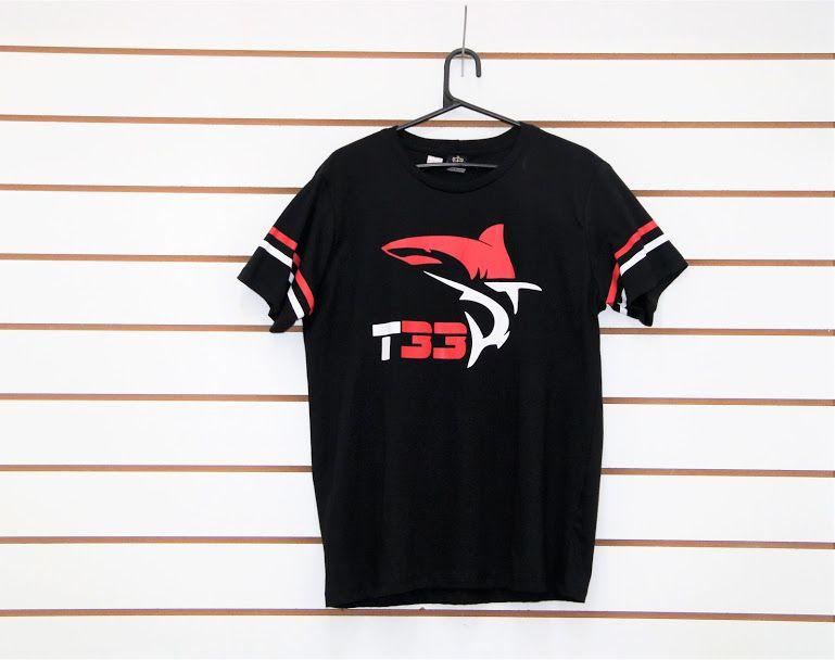 Camisa T33 preta  - Ferrão Store