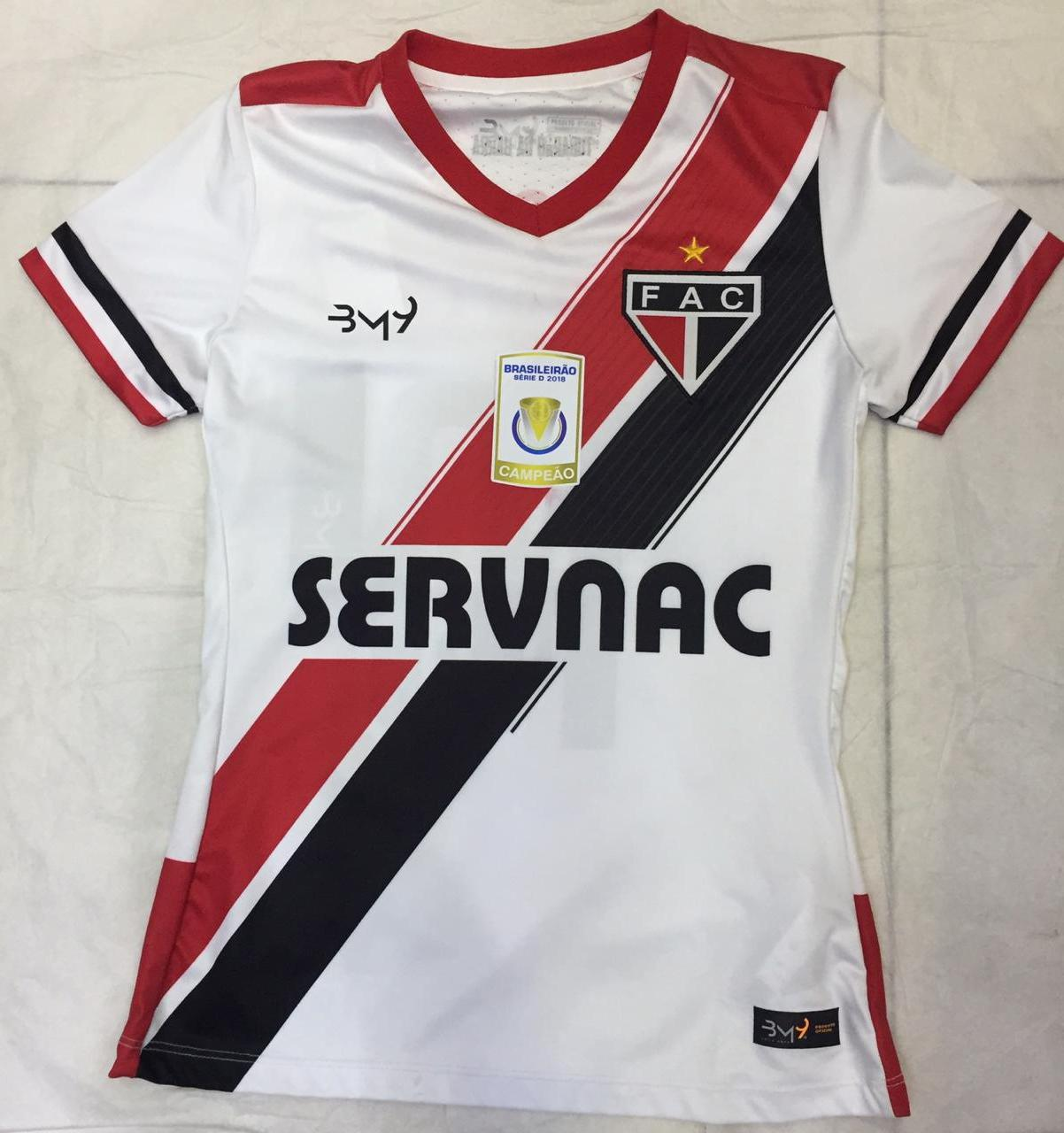 Camisa Uniforme 01 com patrocínio FEMININA N.10 REF.2008100  - Ferrão Store