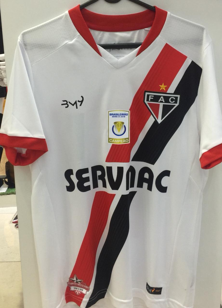 Camisa Uniforme 01 com patrocínio Nº 10 REF.1008116  - Ferrão Store