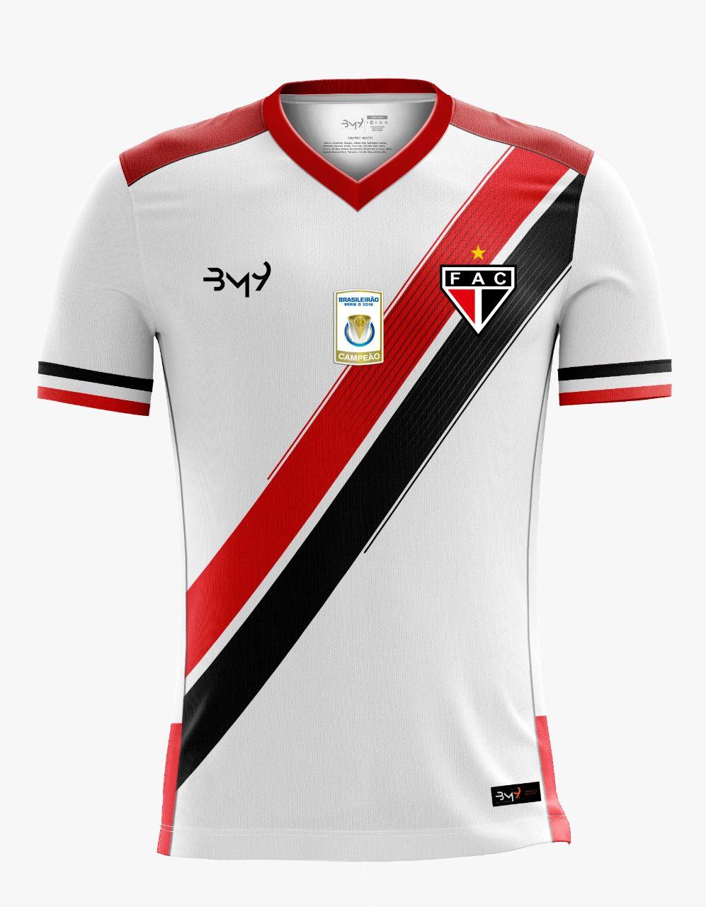 Camisa Uniforme 01 MASCULINA sem  patrocínio REF.1008117  - Ferrão Store
