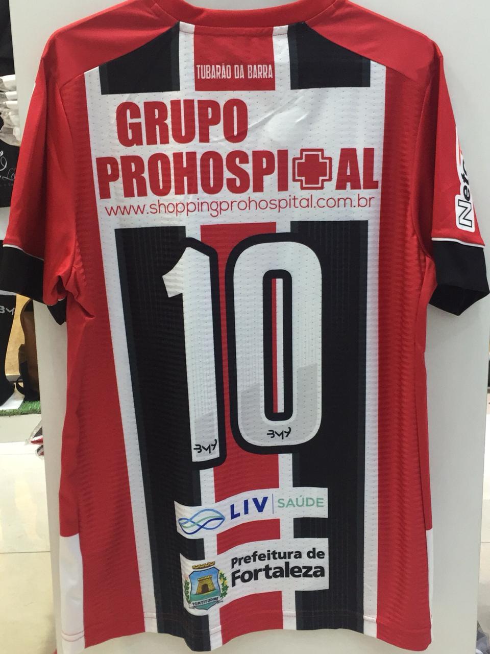 Camisa Uniforme 02 com patrocínio N REF.1008118  - Ferrão Store