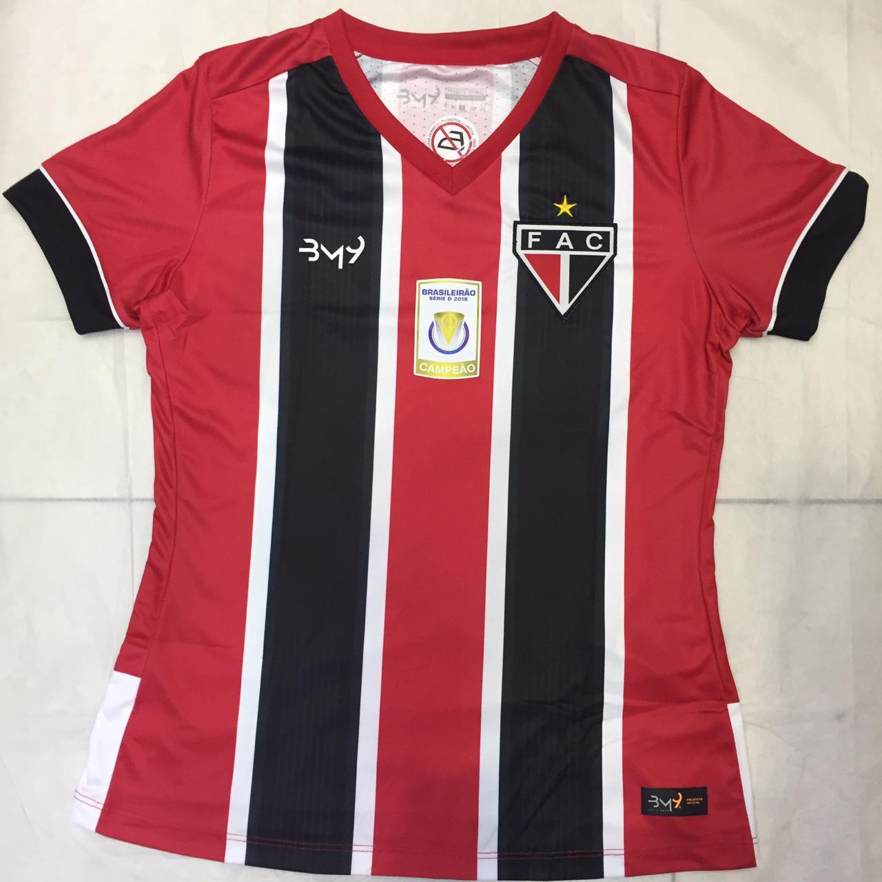 Camisa Uniforme 02 sem  patrocínio FEMININA  REF.2008106 (2019)  - Ferrão Store