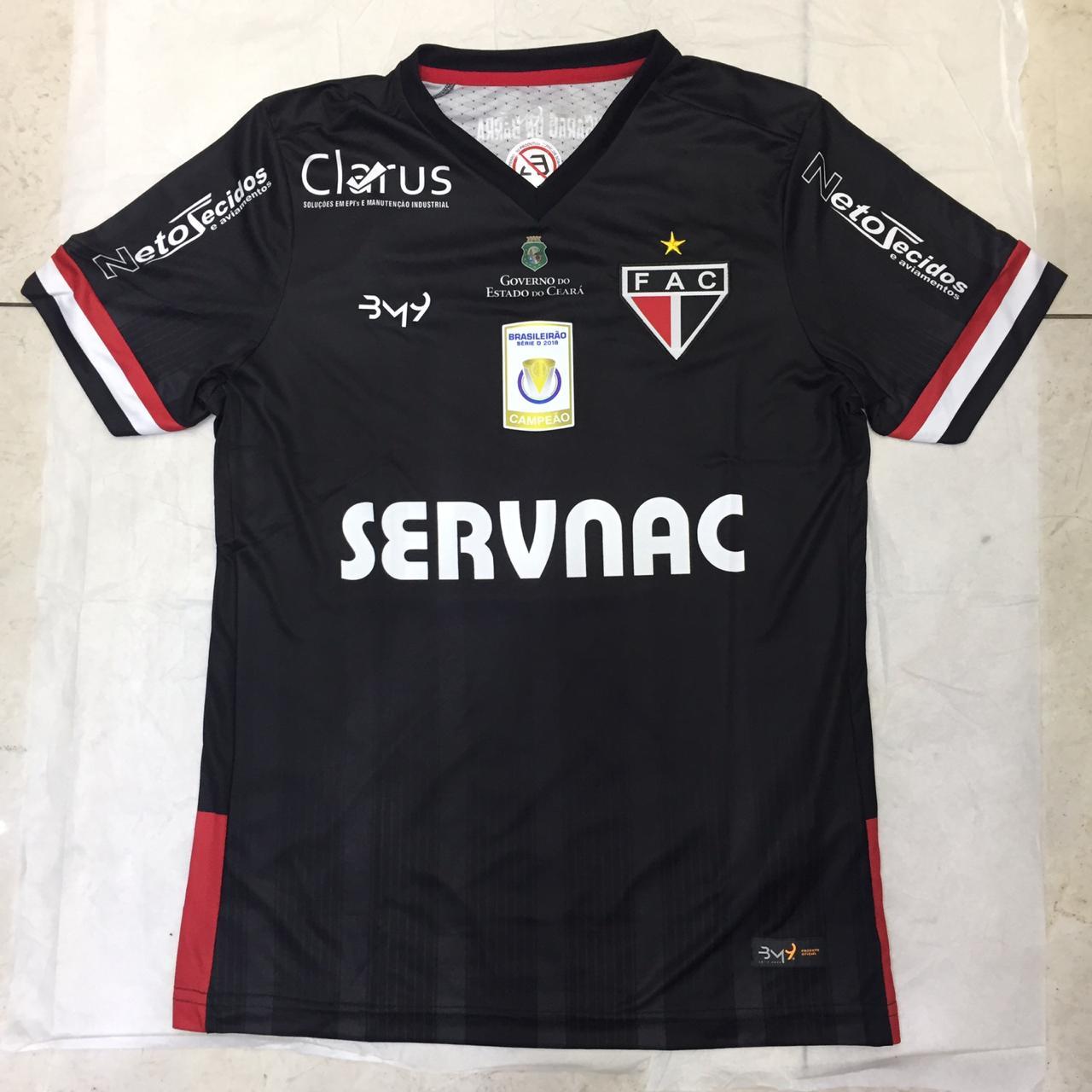 Camisa Uniforme 03 MASCULINA com patrocínio N.10 REF.1008123 (2019)  - Ferrão Store