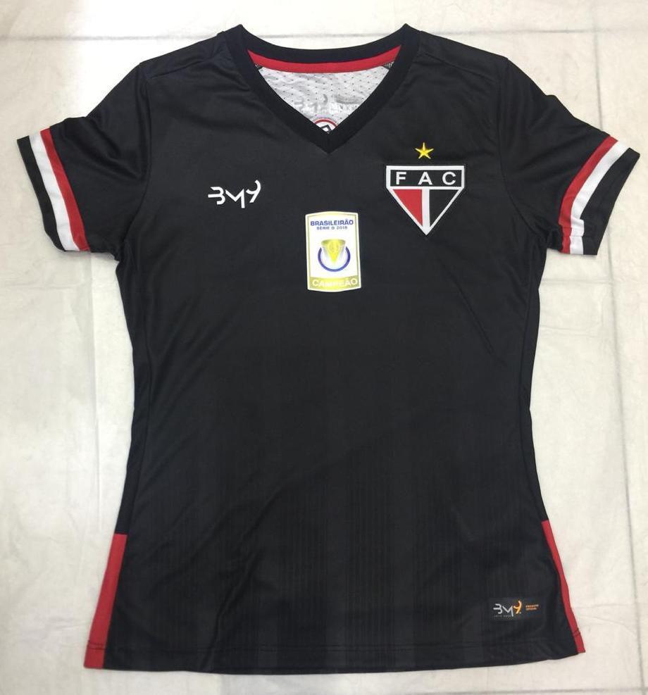 Camisa Uniforme 03 sem  patrocínio FEMININA  REF.2008107  - Ferrão Store