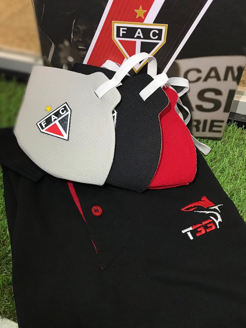 Kit do pais (polo T33 + kit mascaras + caixa)  - Ferrão Store