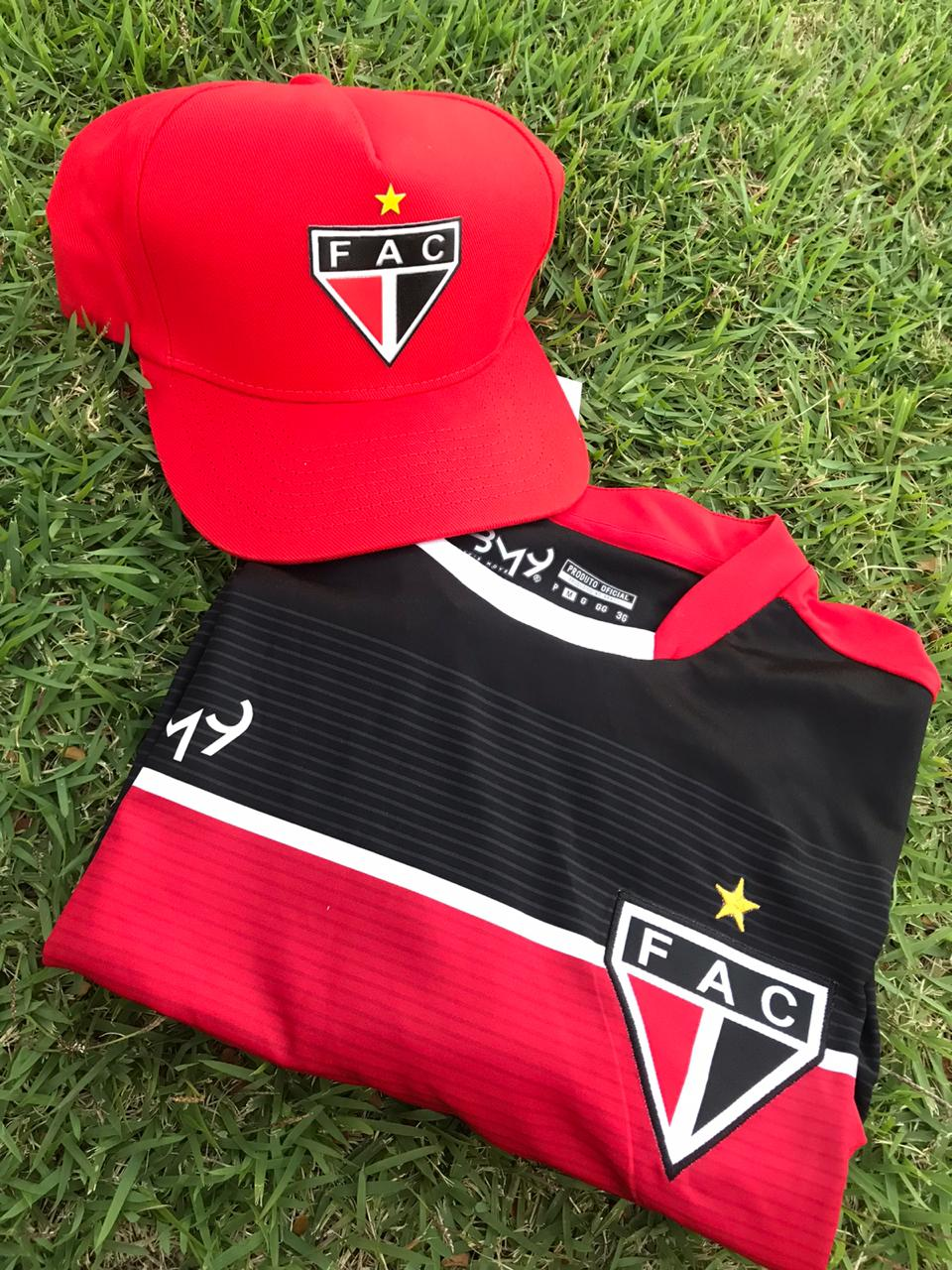 Kit dos pais (camisa treino + boné + caixa)  - Ferrão Store