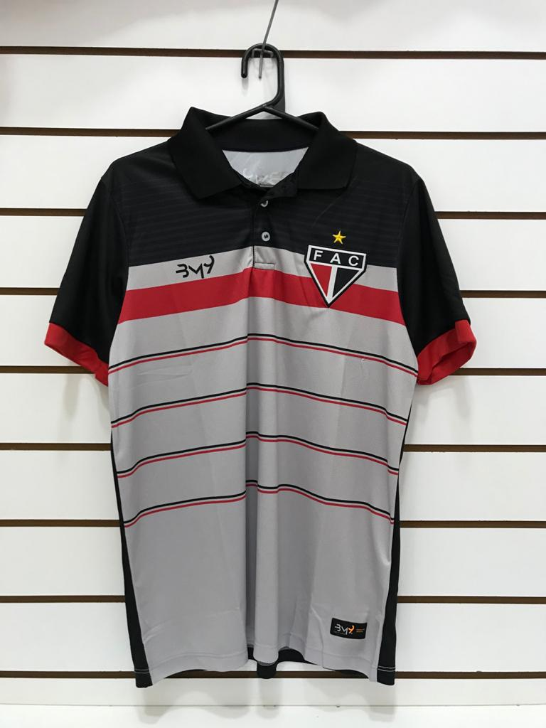 Polo Comissão Técnica Viagem Cinza/Preto Ref.4812000  - Ferrão Store