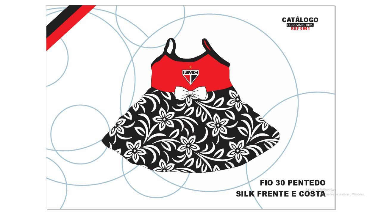 Vestido Infantil Ferrão  - Ferrão Store