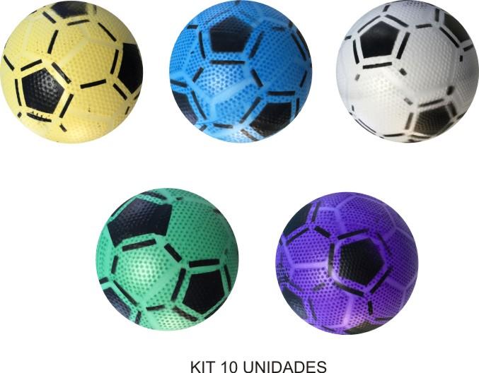 Bolas Bico de Jaca - Kit com 10  - Bolas Lassabia - Bolas de Futebol e Volei