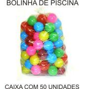50 Bolinhas de Piscina