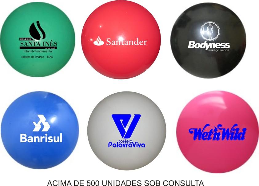 Bola de Vinil 23 cm Personalizada   - Bolas Lassabia - Bolas de Futebol e Volei