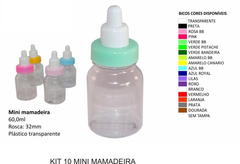 Mini Mamadeira Acrilica - Kit com 30 unidades  - Bolas Lassabia - Bolas de Futebol e Volei
