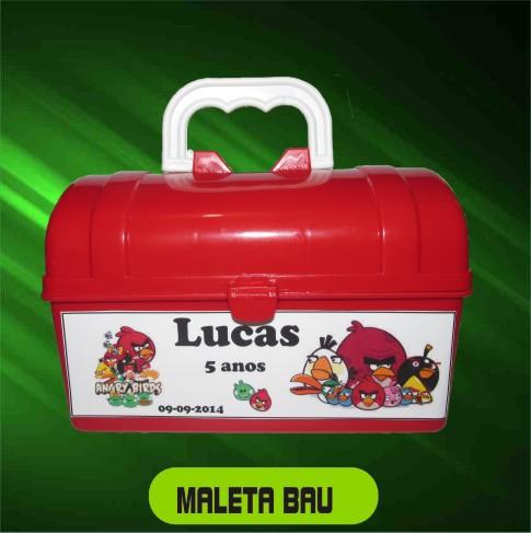Maletinha Bau Personalizada - Kit com 10 Peças  - Bolas Lassabia - Bolas de Futebol e Volei