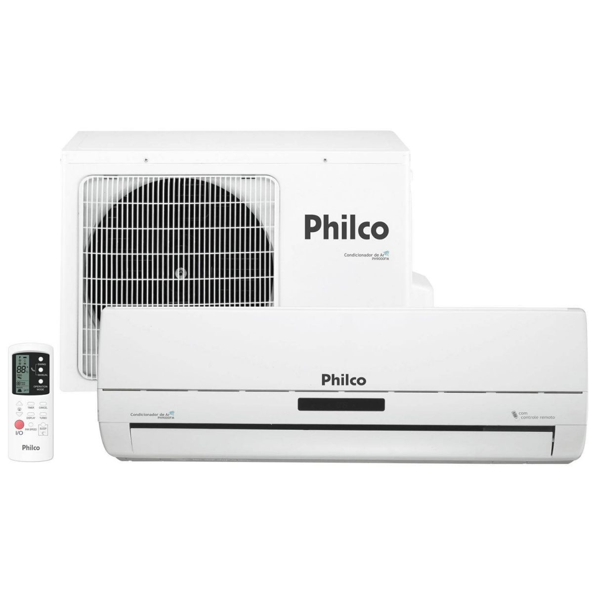 SPLIT HI WALL 9000 BTUS Q/F PHILCO
