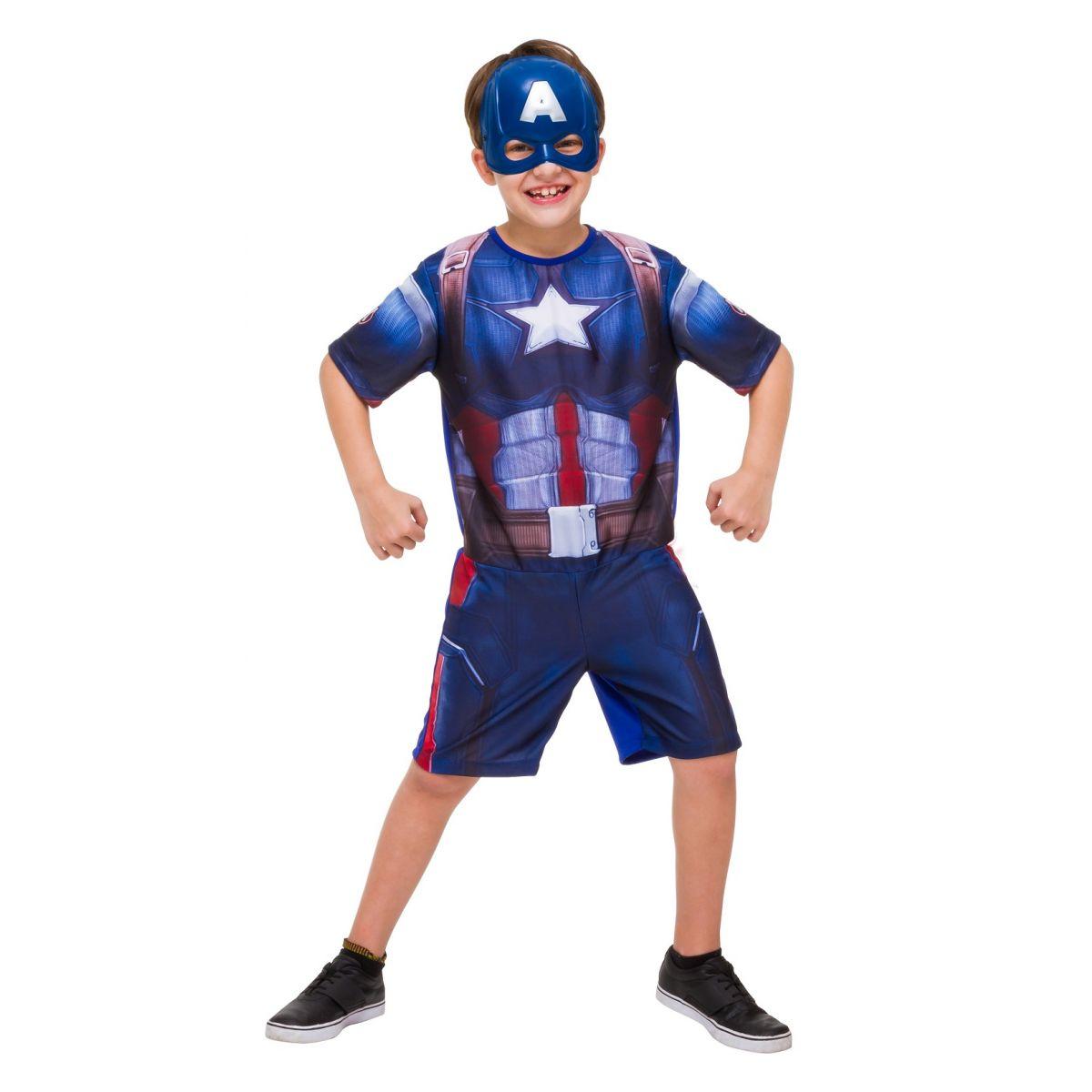 Fantasia Capitão América Infantil