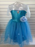 Fantasia Elsa Frozen Infantil Vestido Princesa Disney