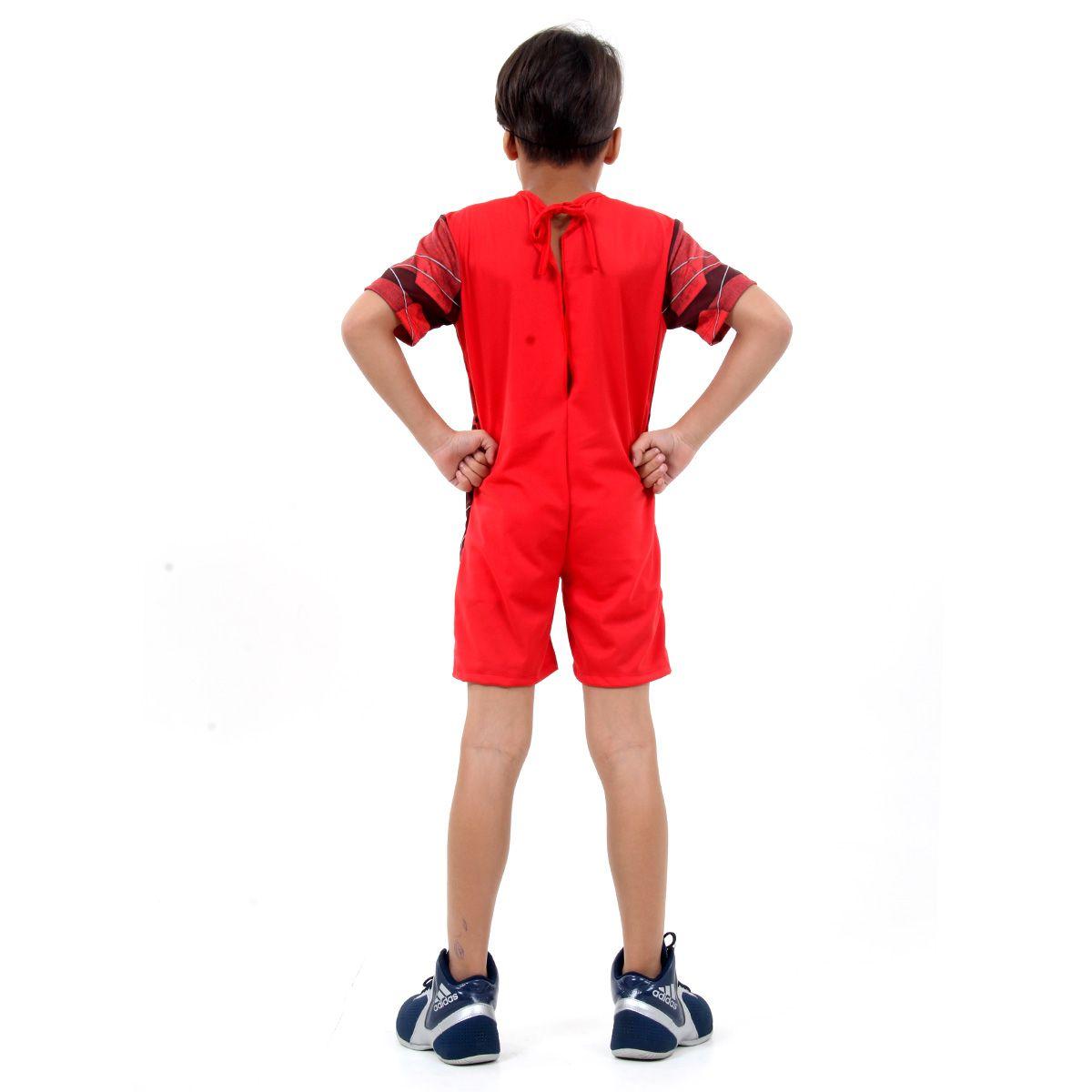 Fantasia Flash Infantil com Músculos