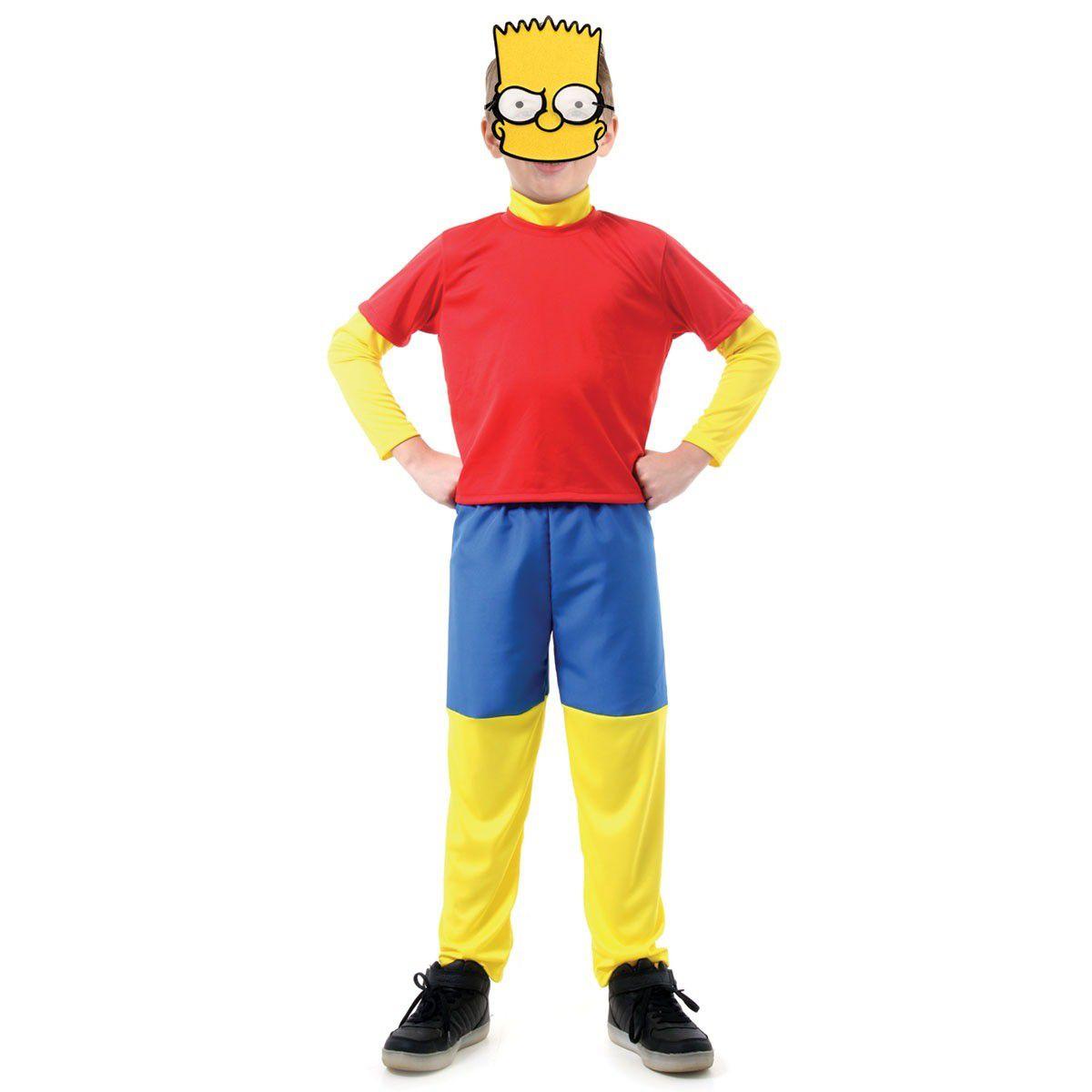 Fantasia Os Simpsons Bart Infantil