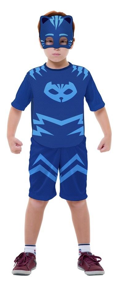 Fantasia PJ Masks Menino Gato Connor Infantil