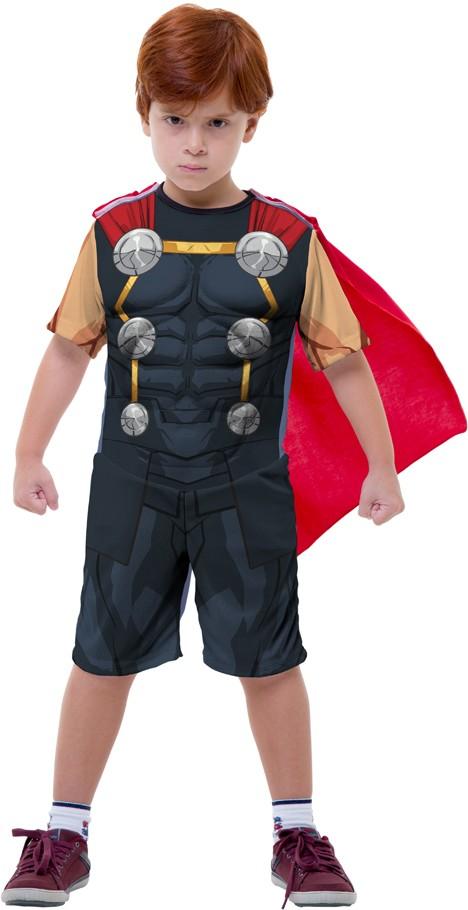 Fantasia Thor Infantil com Martelo