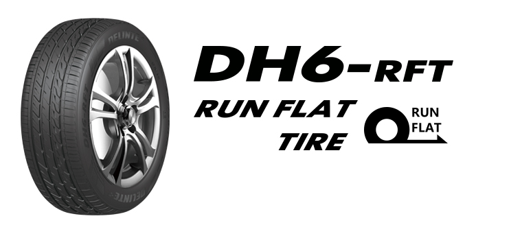 Pneu Delinte DH6 245/40R18 93Y Run Flat
