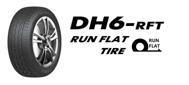 Pneu Delinte DH6 245/45R18 96Y Run Flat