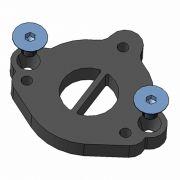 Kit adaptador de válvula SPA TURBO / fixação 'L' para coletor TMW14