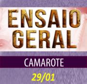 CAMAROTE CARNAVAL 2017 - ENSAIO 29/01/2017