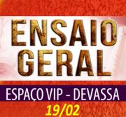 ESPAÇO VIP DEVASSA  ENSAIO FEVEREIRO  19-02-2017