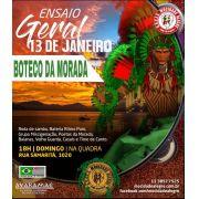 BOTECO ENSAIO - 13/01/2019