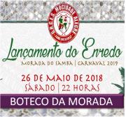 BOTECO - LANÇAMENTO DO ENREDO CARNAVAL 2019
