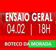 BOTECO DA MORADA - ENSAIO DE QUADRA 04-02-2018