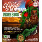 INGRESSO ENSAIO -24/02/2019