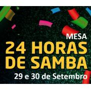 MESAS - 24 HORAS DE SAMBA 2018 ( LADO BARES )